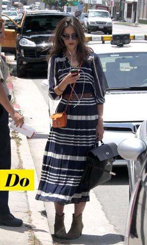 Katie Holmes et son mini Hermès