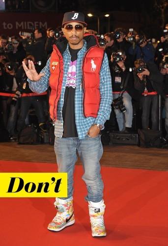 Pharrell Williams en Nike