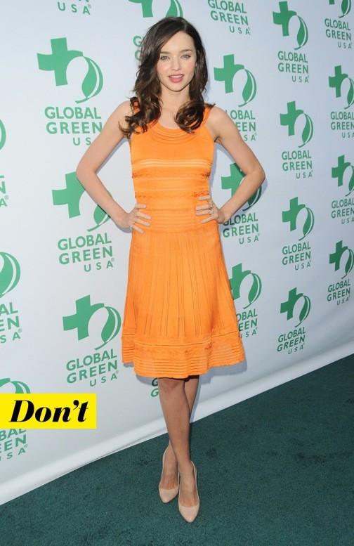 Miranda Kerr et son look raté