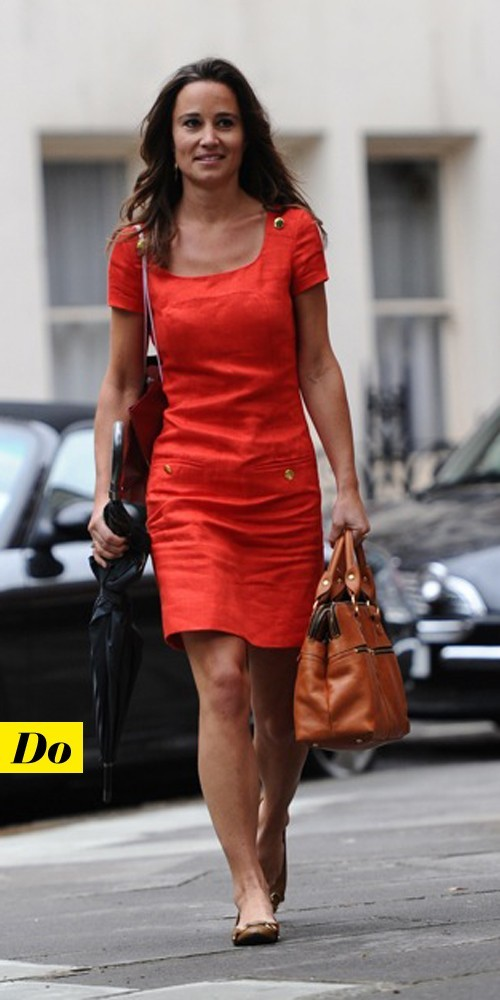 Pippa Middleton en robe Whistles