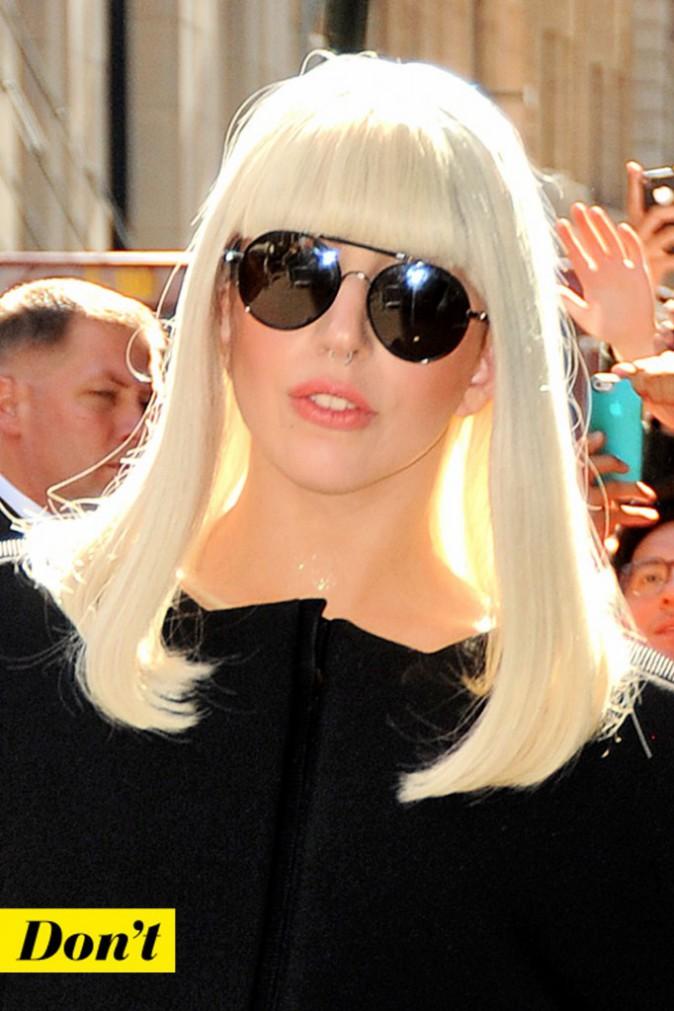 Don't : l'anneau entre les deux narines de Lady Gaga