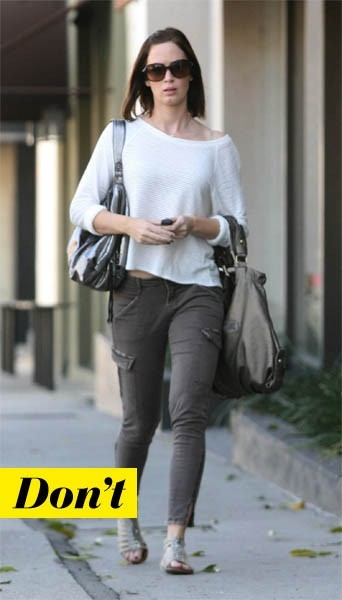 Emily Blunt et son pull loose