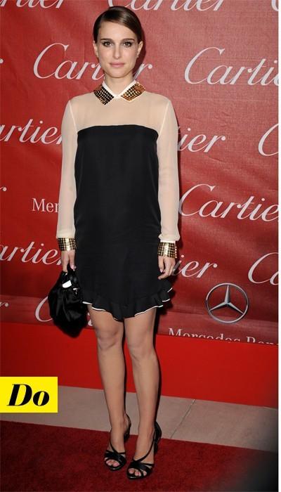 Natalie Portman en Vionnet