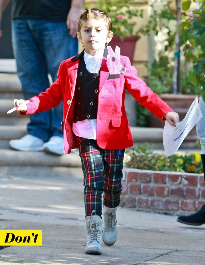 Kingston, le fils de Gwen Stefani