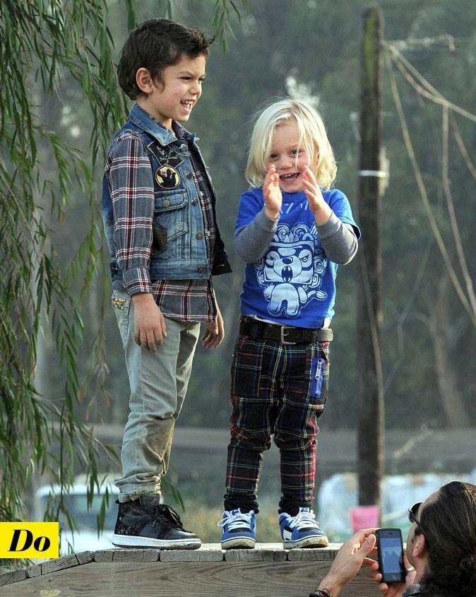 Zuma et Kingston, les enfants de Gwen Stefani