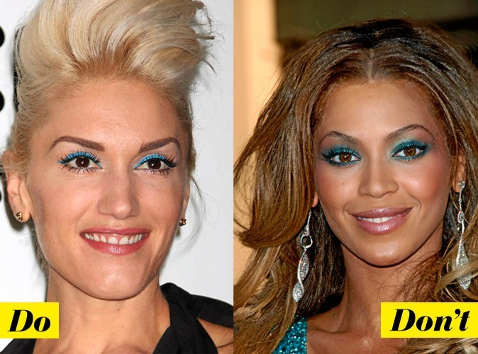 Maquillage de star : mode d'emploi du make-up bleu