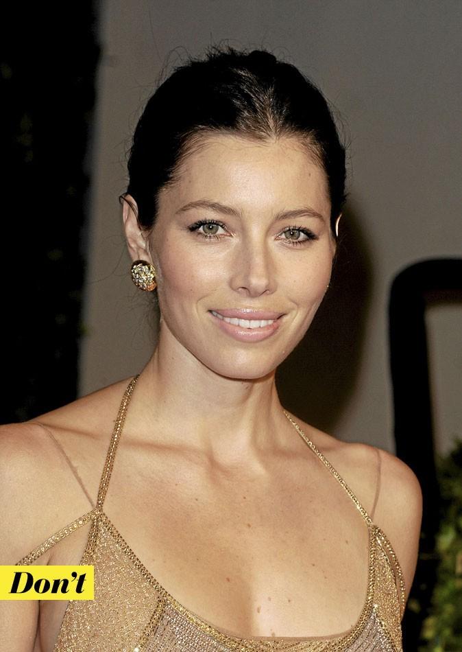 Maquillage de star : le teint nude de Jessica Biel