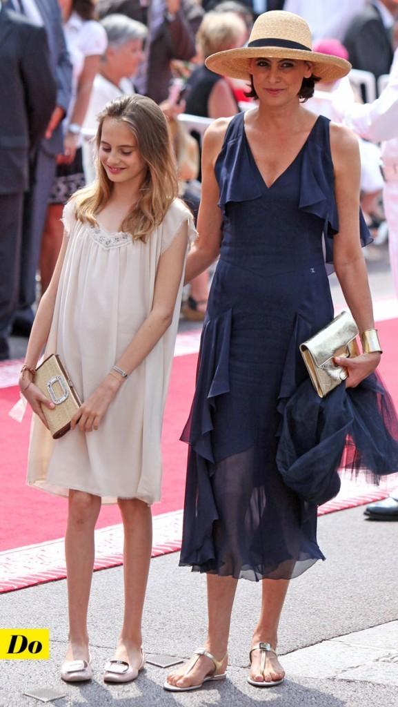 Mariage de Charlene Wittstock et Albert de Monaco : le look d'Inès de la Fressange avec sa fille !