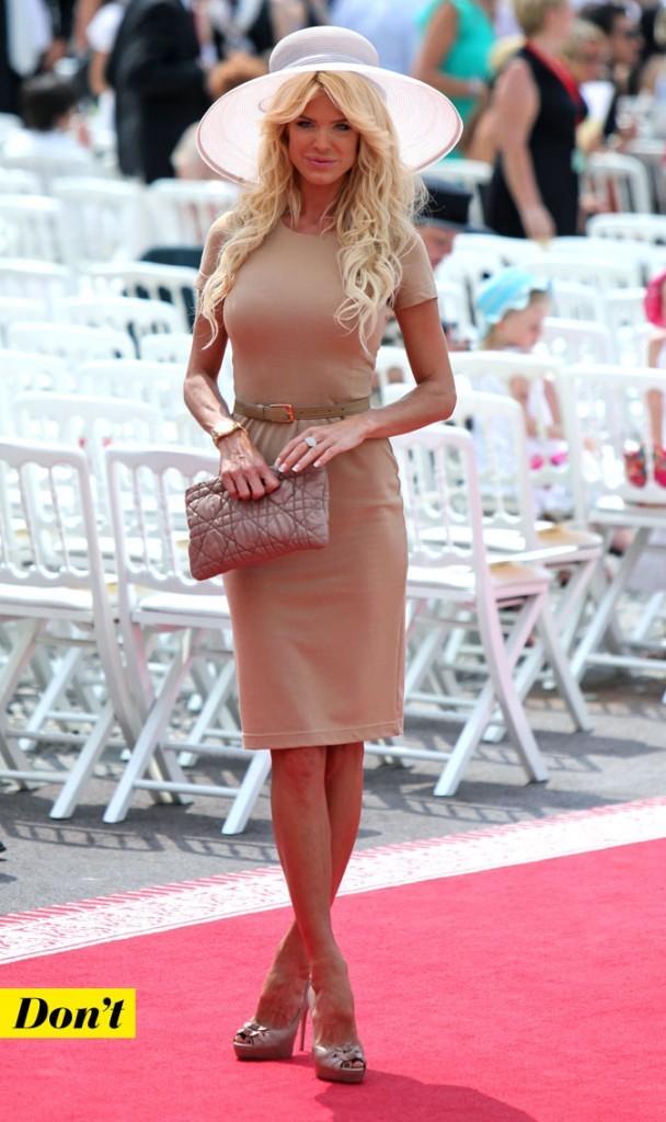 Mariage de Charlene Wittstock et Albert de Monaco : le look de Victoria Silvstedt !