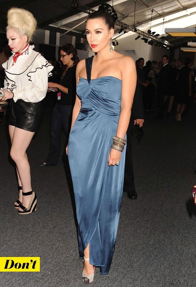 Mercedes-Benz Fashion Week 2011 : Kim Kardashian lors du défilé Vera Wang !