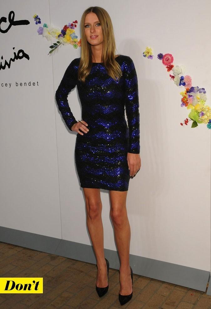 Mercedes-Benz Fashion Week 2011 : Nicky Hilton lors du défilé Alice and Olivia !