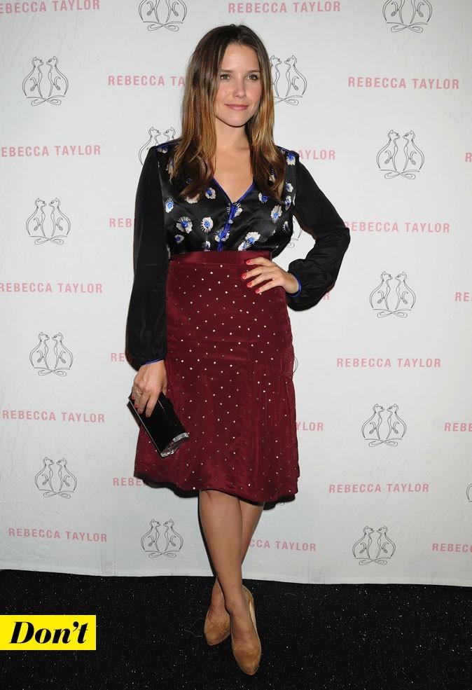 Mercedes-Benz Fashion Week 2011 : Sophia Bush lors du défilé Rebecca Taylor !