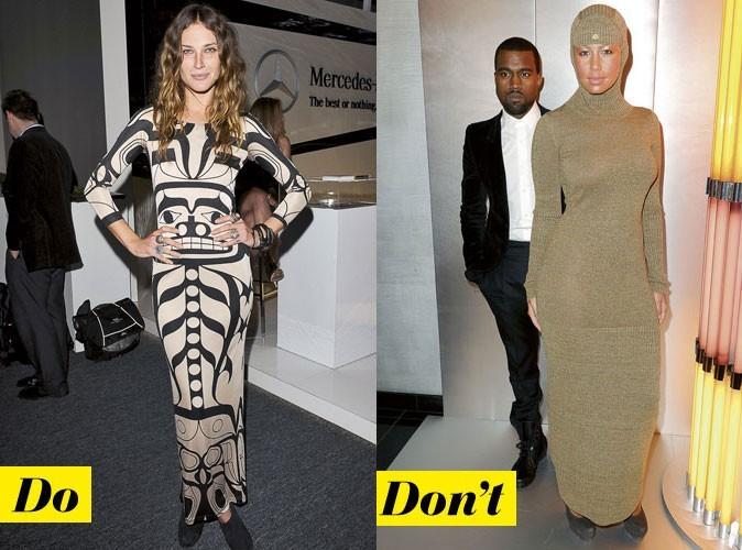 La robe longue d'Erin Wasson et d'Amber Rose