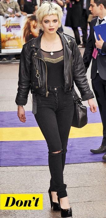 La veste perfecto de Pixie Geldof