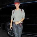 Tendance militaire : le slim camouflage de Rihanna