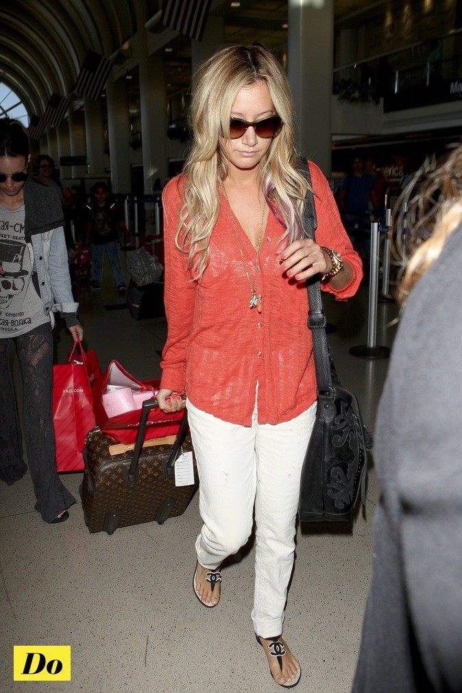 Ashley Tisdale, au top !