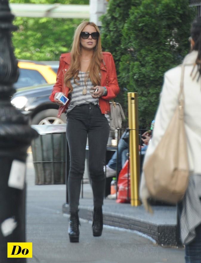 Lindsay Lohan, modisa à toute heure de la journée !