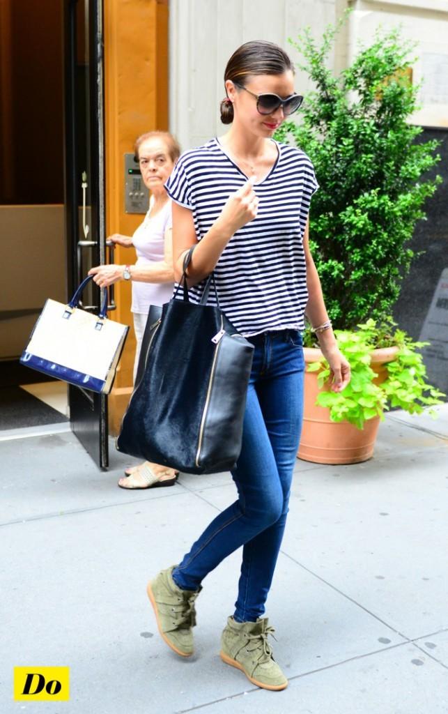 Miranda Kerr: un sans faute !