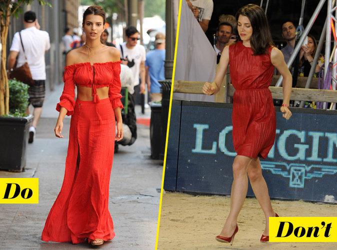 La tenue rouge