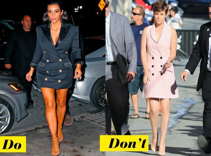 Kim Kardashian et Kate Mara