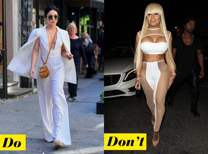 Le total look white - Do : Vanessa Hudgens / Don't : Blac Chyna