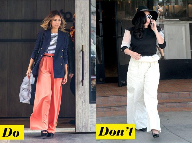 Do et don't : le pantalon oversize