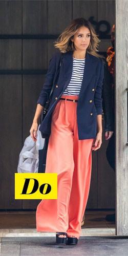 Do : Jessica Alba et son pantalon oversize
