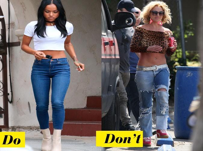 Don et don't : le crop top + jean