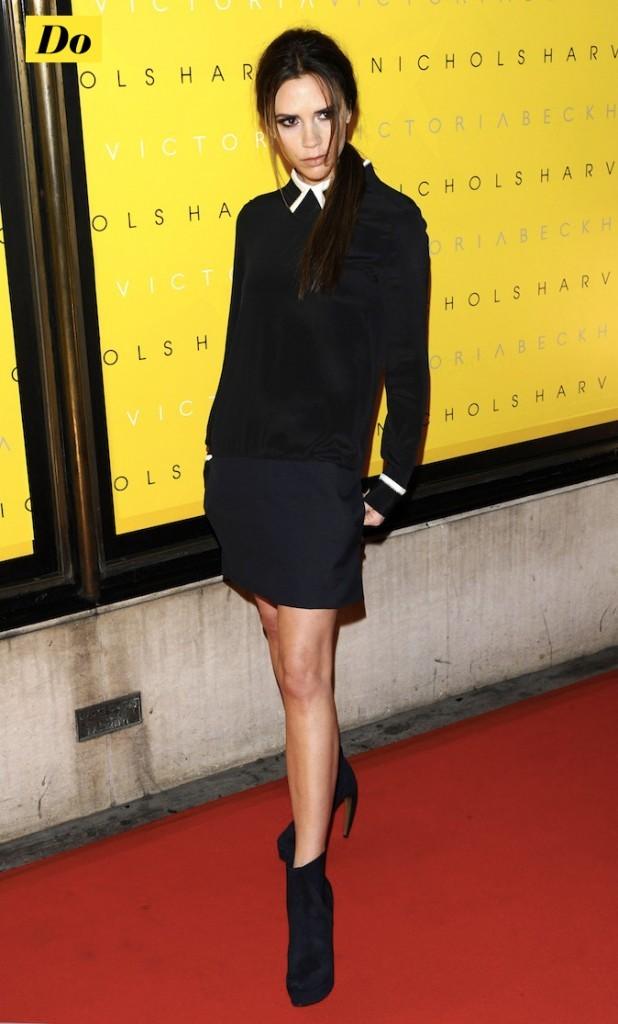 Victoria Beckham : il faut souffrir pour être belle !