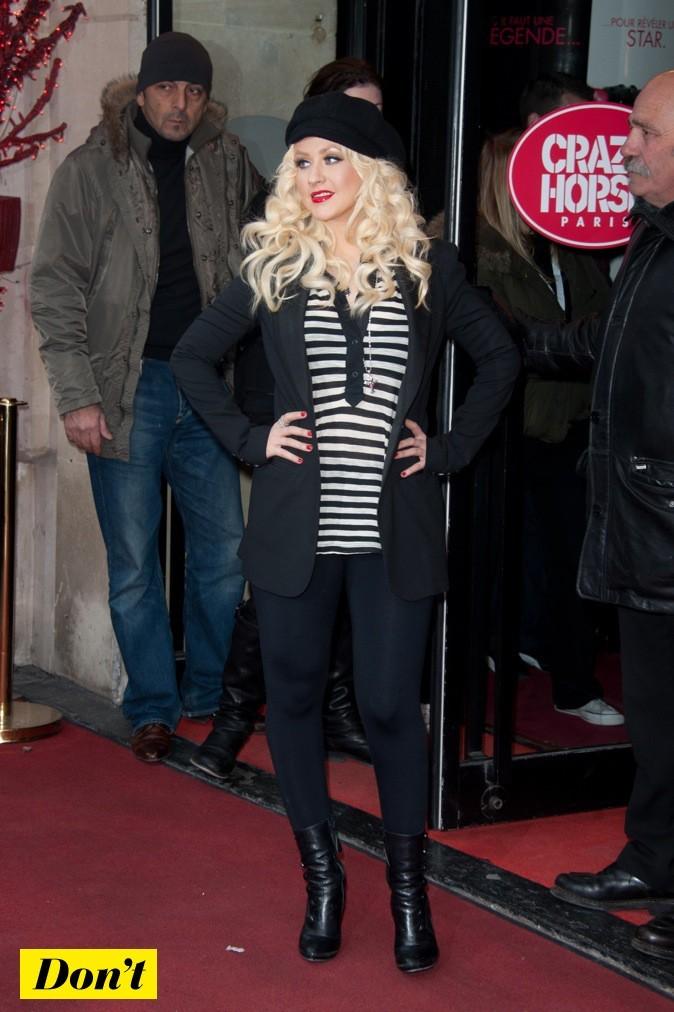 Christina Aguilera : bof bof le style !