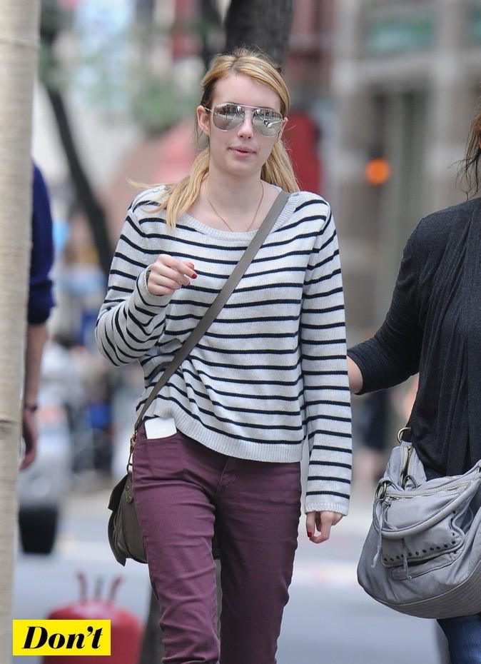 Emma Roberts : oups !