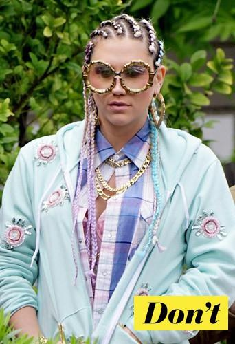 Les lunettes de Ke$ha ? Même pas en rêve !