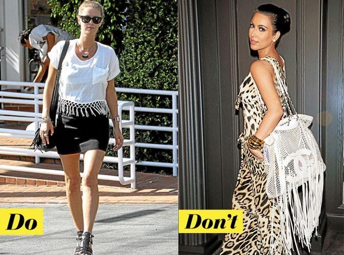 Look de star été 2011 : comment porter une pièce à franges ?