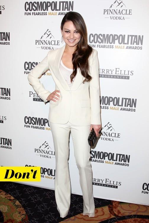 Mila Kunis en Calvin Klein
