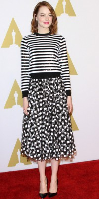 Emma Stone : un mix'n'match osé... Chic ou cheap ?