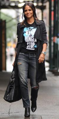 Halle Berry : elle mixe mode et humanitaire ! 21/10 12h35 12