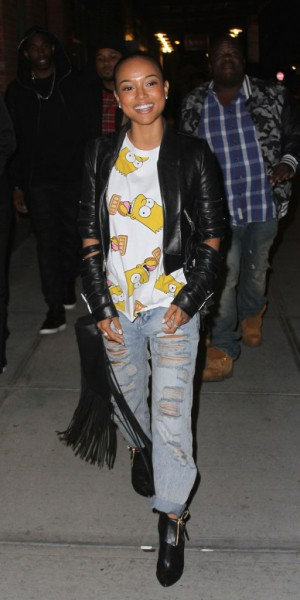 Karrueche Tran : Bart Simpson remplace Chris Brown