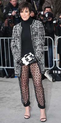 Kris Jenner : fashion faux-pas pour la momager !
