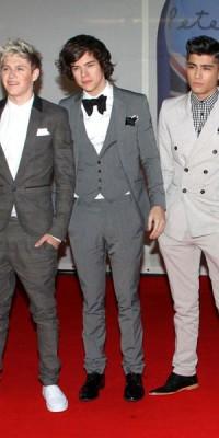 "Les looks des One Direction aux Brit Awards 2012 : ""What Makes Them Beautiful"" ?"