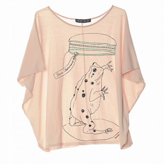 T-shirt en coton organique, 97€