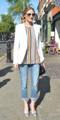 Olivia Palermo, casual chic dans les rues de London City !