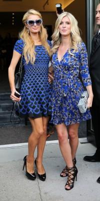 Paris et Nicky Hilton : les Schtroumpfettes sont de sortie !