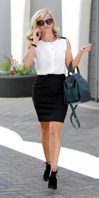 Reese Witherspoon: une femme d'affaire busy mais stylée !