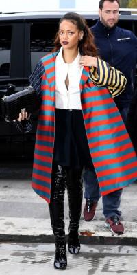 Rihanna : son style arlequin, top ou flop ?