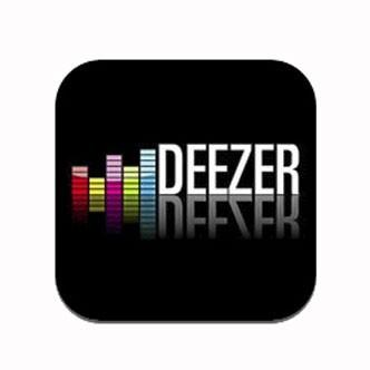 Application pour Smartphone Deezer