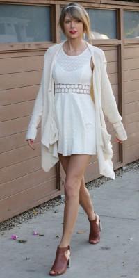 Taylor Swift : un look bohème chic !