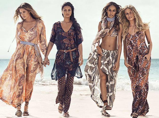 Adriana Lima, Natasha Poly, Doutzen Kroes... Un crew hippie-chic et romantique pour H&M !