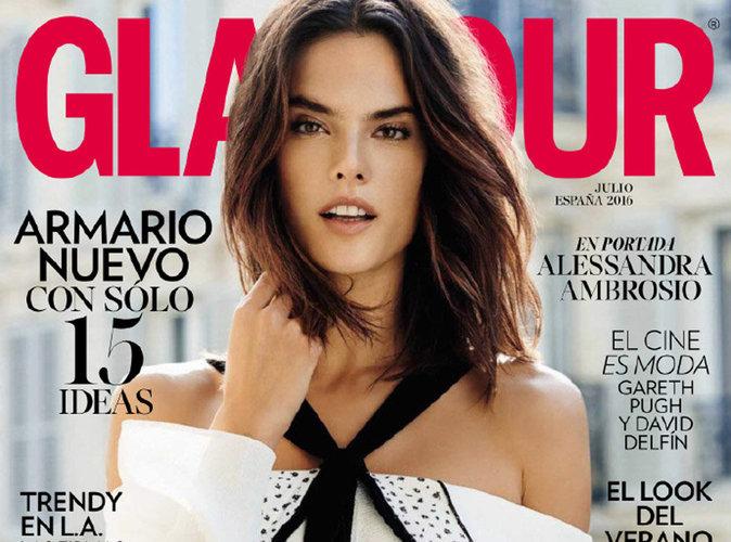 Alessandra Ambrosio : fraîche et estivale pour Glamour Espagne