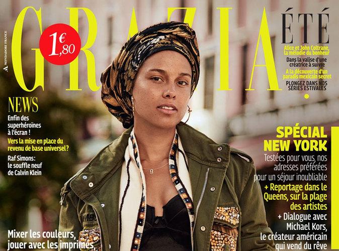 Alicia Keys : sans make-up, elle affiche fièrement son nouveau style !