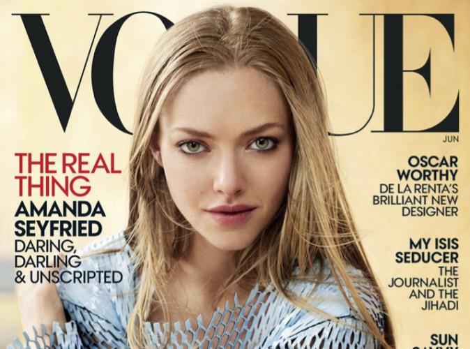 Amanda Seyfried : une sublime première couverture pour Vogue !